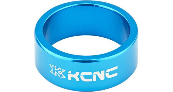 """KCNC Headset Spacer 1 1/8"""" 14mm Blå"""